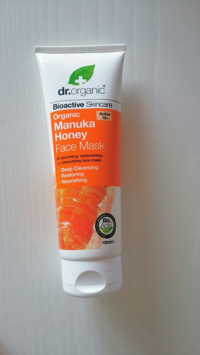manuka honey face mask dr organic